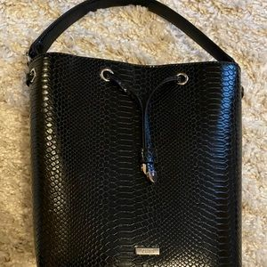 black chaps purse